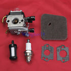 Carburetor +Air Fuel Filter For STIHL FS38 FS45 FS46 FS55 KM55 FC55 41371200608