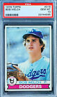 1979 TOPPS BOB WELCH RC PSA 10...1990 CY YOUNG(27-6) 211 WINS...CARDREGISTRY