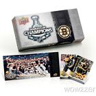 (5) 2011 Upper Deck Boston Bruins NHL Stanley Cup Champions Sealed Box Sets !!