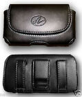 Leather Case Pouch Holster w Belt Clip for Verizon Palm Treo 700w 700wx 755p