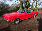 1965 Ford Mustang Fastback 289 V8 Manual MOT and Tax with V5 Red