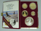 1995 W American Eagle 10th Anniversary Proof Set Rare Set 5 coin w Box and COA