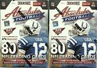 (2) 2014 Panini ABSOLUTE Football NFL Cards 8ct Retail BLASTER Box LOT=160 Cards
