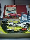 AURORA MoDEL MoToRING REAL RACING SLOT CARS TRACK SET,HO SCALE,WITH CARS,BOX