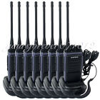 8PCS Walkie Talkie BAOFENG T88 UHF 400-480MHz 5W Monitor FM Radio Two Way Radio