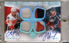 Jarome Iginla & Rick Nash 2010-11 UD Ultimate Auto Dual Patches Card#ADJ-IN 5 5