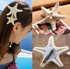 Beauty Woman Pretty Girls Starfish Beach Sea Star Hairpin Hair Clip EY198