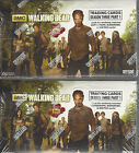 The Walking Dead Season 3 Part 1 - 2 Factory Sealed Hobby Boxes by Cryptozoic