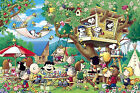 Epoch Jigsaw Puzzle 11-517 Peanuts Snoopy Tree House (1000 Pieces)