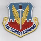 USAF Patch AIR COMBAT COMMAND, WITH VELCRO - 4