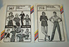 (2) NEW Uncut STRETCH & SEW # 719 & # 367 Ann Person Pants & Tops PATTERNS