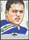 2013 Super Box Football Manti Te'o Rookie Sketch #1 1