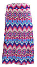 NEW for Women by Jon & Anna Pink Abstract Slinky Maxi Skirt Plus Size 1X