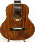 3A Curly Hawaiian Koa Baritone Guitarlele Sweet Sound Flannel Hard Case MGU03