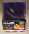1 Pack of 10 Ultra Pro 3x4 Thick Toploaders 180 pt Card Holder