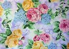 Concord Fabric Designed by The Kessler's, Multi Colored Roses, 45