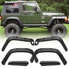 Fits 97 06 Jeep Wrangler TJ Sport Utility Pocket Rivet 7 Wide Fender Flares