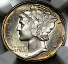 1945 Mercury Head Dime Superb Gem BU NGC MS-65... Neat Coin with Matte Surfaces!