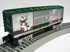 LIONEL SILVER BELL BOXCAR TRAIN CHRISTMAS HOLIDAY O GAUGE 6-36193
