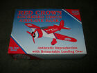 Rare Spec Cast 1994 Red Crown Gasoline Lockheed Orion Airplane Bank 1 of 5000