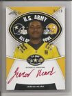 2014 Leaf US Army All American JERROD HEARD Red Ink AUTOGRAPH AUTO 1 10 - Texas