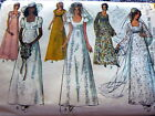 LOVELY VTG 1970s WEDDING DRESS GOWN  BRIDESMAID DRESS Sewing Pattern 8 315