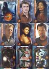 SERENITY MOVIE 2005 INKWORKS COMPLETE BASE CARD SET OF 72