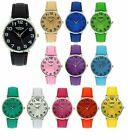 Prince London PU Leather Strap Ladies Watch Xmas Gift For Her PI-2012
