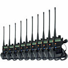 10pcs Walkie Talkie Zastone ZT-V8A+ 5W 128CH UHF+VHF DTMF Monitor Two-Way Radio
