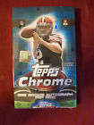 2014 Topps Chrome Football Factory Sealed Hobby Box - 1 Autograph in EVERY Box