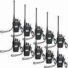 10PCS Walkie Talkie Baofeng UVB5 99CH 5W UHF+VHF FM radio Monitor Two-way Radio
