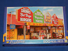 New 500 pc Jigsaw Puzzle Puzzlebug Gift Fast Food Stalls Skegness UK