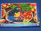 New 500 pc Jigsaw Puzzle Puzzlebug Gift Berry Fruits Food Fun