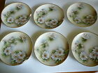 Weimar Handpainted China Set (6) Small Plates Desert Salid Signed