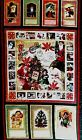Christmas Past Quilt Fabric Panel Old Fashioned Santa Claus 100% Cotton OOP