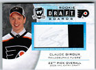2008 09 UD UPPER DECK THE CUP CLAUDE GIROUX ROOKIE DRAFT BOARDS AUTO RARE