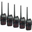 5PCS Walkie Talkie BaoFeng BF-A52 Dual Band VHF+UHF 5W 128CH Monitor Transceiver
