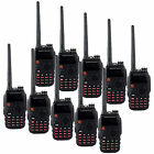 10PCS Walkie Talkie BaoFeng BF-A52 VHF+UHF 5W 128CH Monitor LCD Two Way Radio