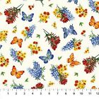 Northcott Wildflowers by Deborah Edwards 20539 11 Allover Cotton Fabric BTY