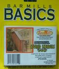Bar Mills #0305 (N Scale) Covered Stairwell -- Kit (2 in package)