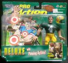 BRETT FAVRE 1999 Starting Lineup Deluxe w/Passing Action Figure - PACKERS