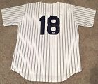 Don Larsen NEW YORK YANKEES Perfect Game Signed Home MLB Jersey PSA DNA COA