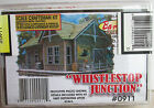BAR MILLS ~LOT B~ WHISTLESTOP JUNCTION BUILDING KIT ~LASER CUT WOOD~ HO SCALE