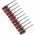 10PCS Baofeng BFUV-5REPlus Walkie Talkies UHF+VHF 5W 128CH Monitor Two way Radio