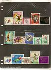 T43 PAGE OF OLYMPIC THEMATIC STAMPS