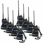 8PCS YANTON T-UV2D Walkie Talkie 8W 2*128CH Three band Scrambling Two way radio