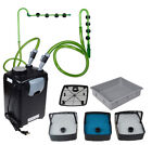 3 Stage Fresh/Salt 265GPH External Fish Canister Filter Aquarium Pond Tank Pump
