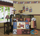 Baby Boutique Western Horse Cowboy 13PCS Nursery CRIB BEDDING SET