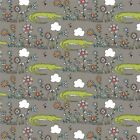 Birch Organic Fabrics - Picnic Whimsy RG 30 Lurking Cotton Fabric