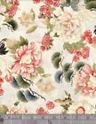 100 % cotton quilting fabric  Tadashi 4387 24139 cre1  red rooster 5/8 yd